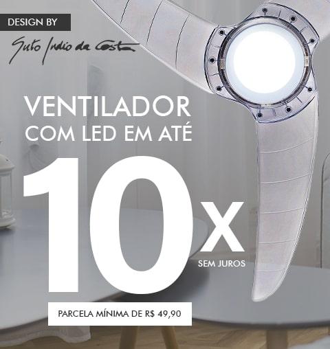 Ventilador de Teto LED