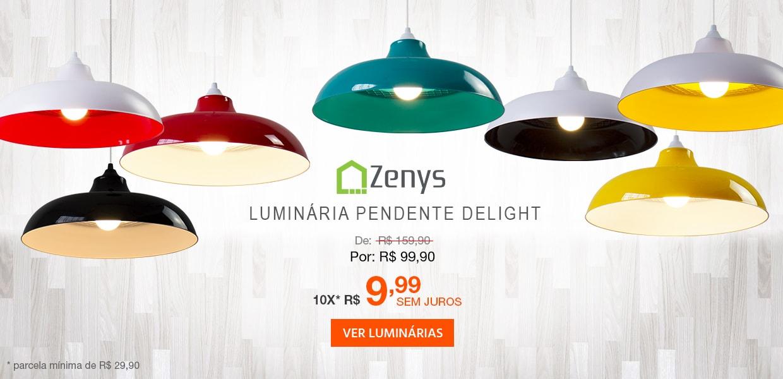 Luminária Pendente Zenys