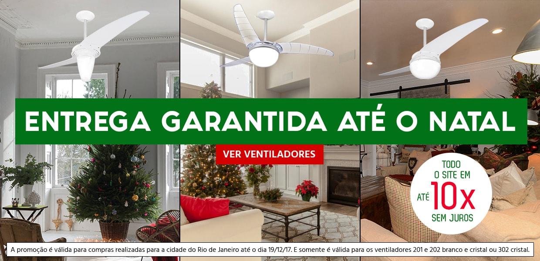 Compre seu ventilador e receba até o Natal