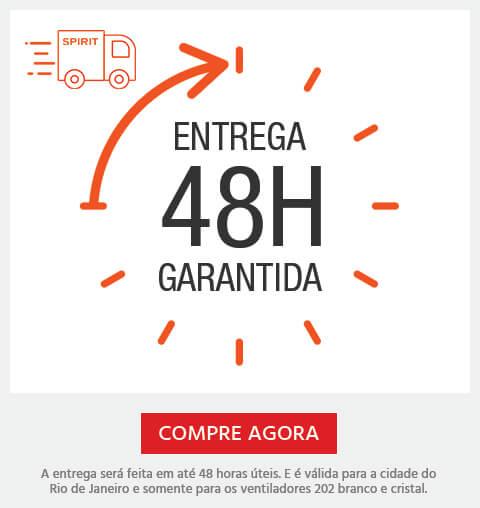 Entrega Garantida em 48H para a cidade do Rio de Janeiro