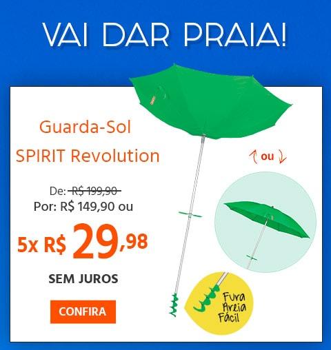 Guarda-Sol Revolution com R$50,00 de desconto