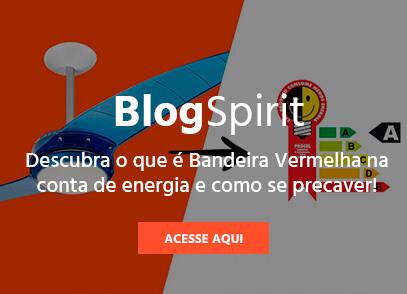 Blog Spirit | Como se precaver com a bandeira vermelha na conta de energia elétrica