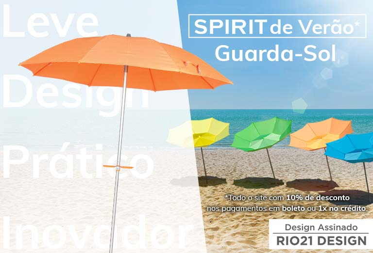 Linha Praia - Guarda Sol Spirit