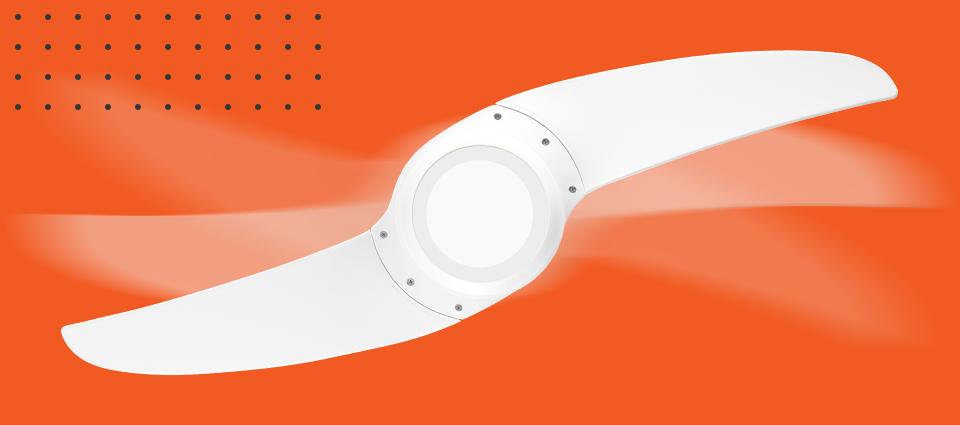 Ventilador de teto Spirit Wind - Vento, Versatilidade, Inovação
