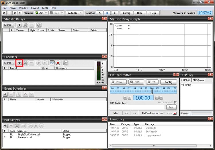 Como transmitir AO VIVO com o Sam Broadcaster em MP3