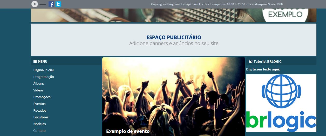 Módulo Livre - RádioFácil 3.0