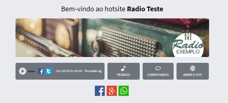 Como ativar aplicativo para páginas do Facebook no RádioFácil 3.0