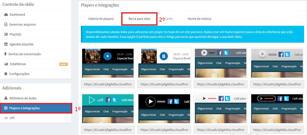 Como inserir um player de sua web rádio em seu blogspot/blogger