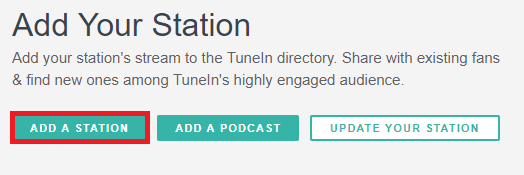 Como cadastrar a rádio no TuneIn