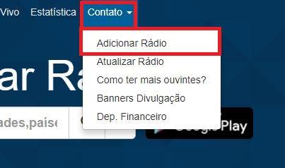 Como adicionar sua rádio no aplicativo RadiosNet