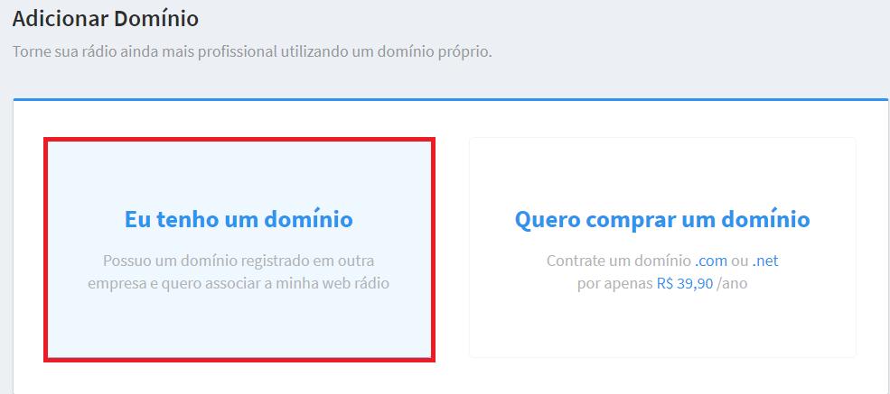 Como direcionar seu domínio próprio para o Site Administrável