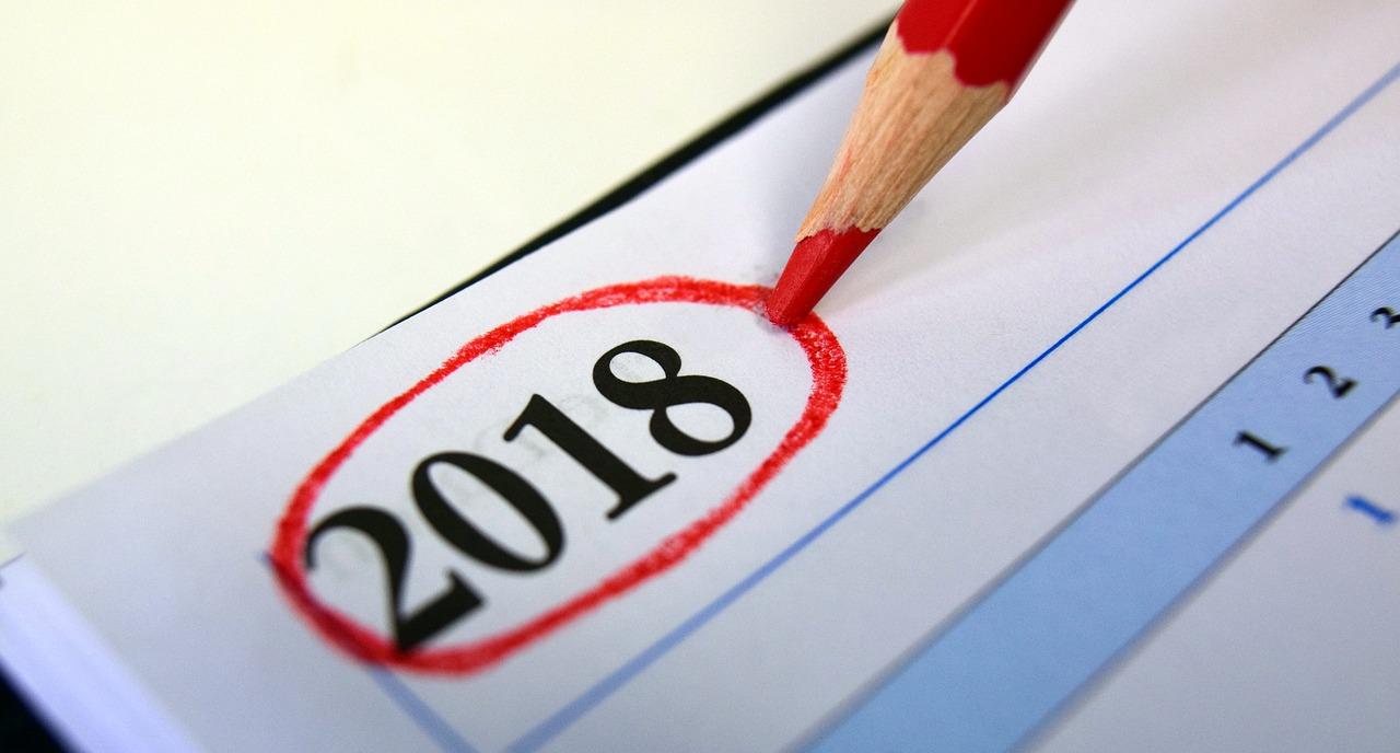 Feliz ano novo - 2018