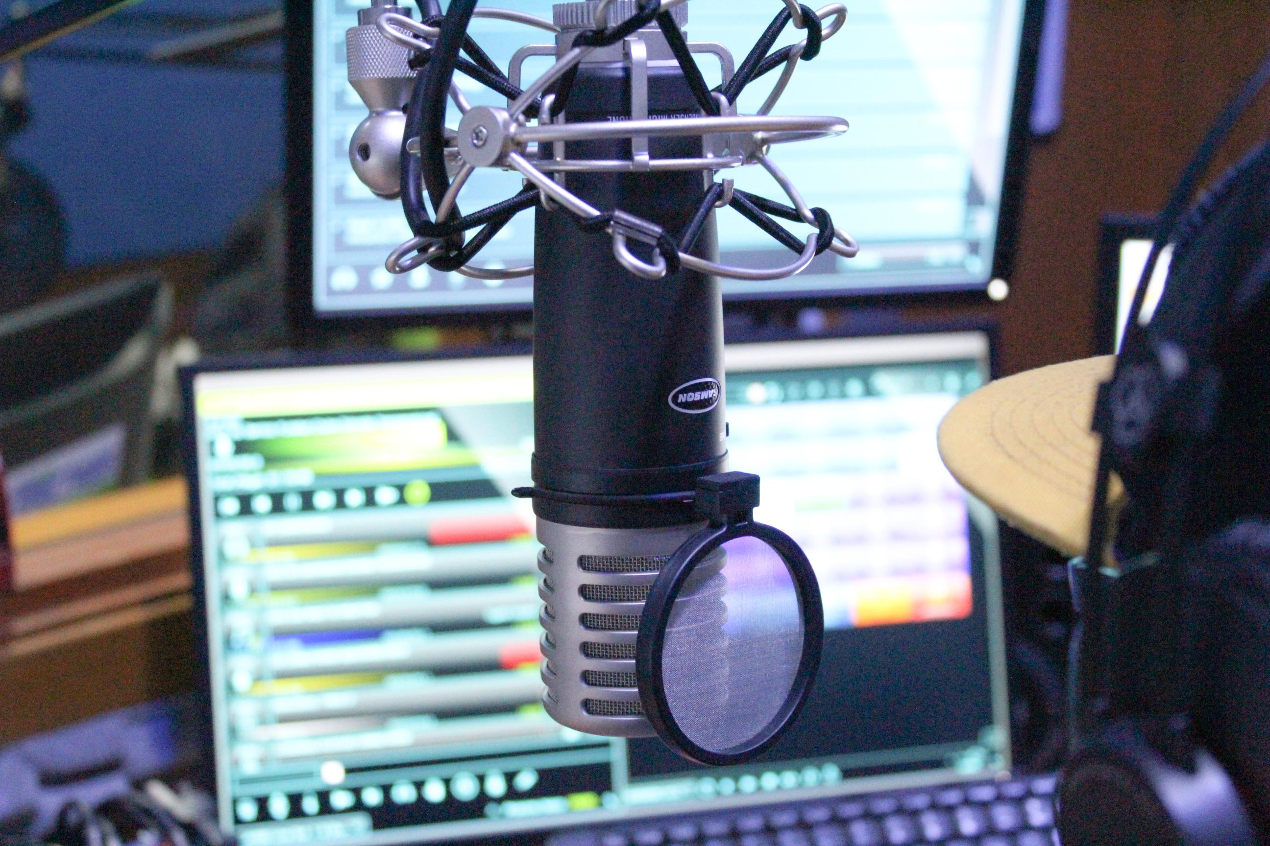 Estúdio da Rádio Web Conectados