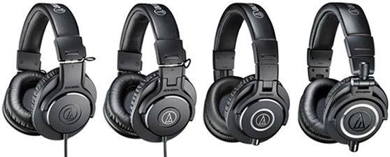 Audio Technica ATH M20X/M30X/M40X/M50X