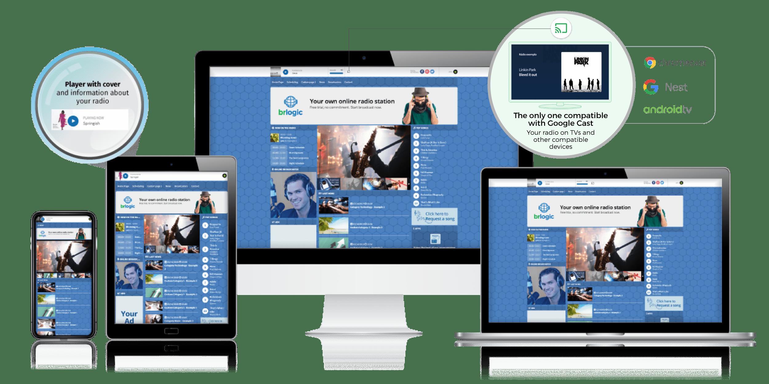 Create online radio station