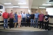 Legislativo faz entrega de Moção Honrosa aos Policiais Militares em Reserva