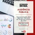Audiência Pública de apresentação das Metas Fiscais do 2º Quadr. de 2021