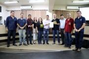 Câmara entrega Moção de Apoio a EMATER/RS
