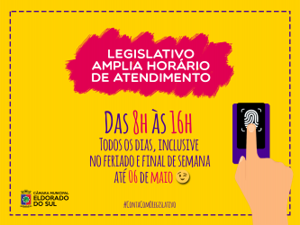 Câmara amplia horário de atendimento auxiliar a população a regularizar Título de Eleitor e obter Auxílio Emergencial