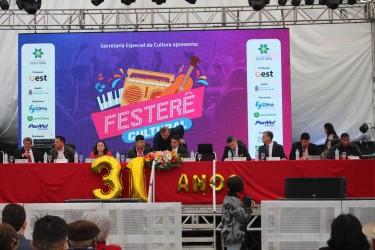 Sessão Solene em comemoração ao Aniversário do Município