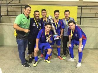 Time da Câmara é campeão do Torneio de Futsal dos Servidores Públicos Municipais