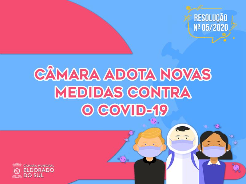 Câmara suspende as atividades presenciais e adota Regime de Teletrabalho