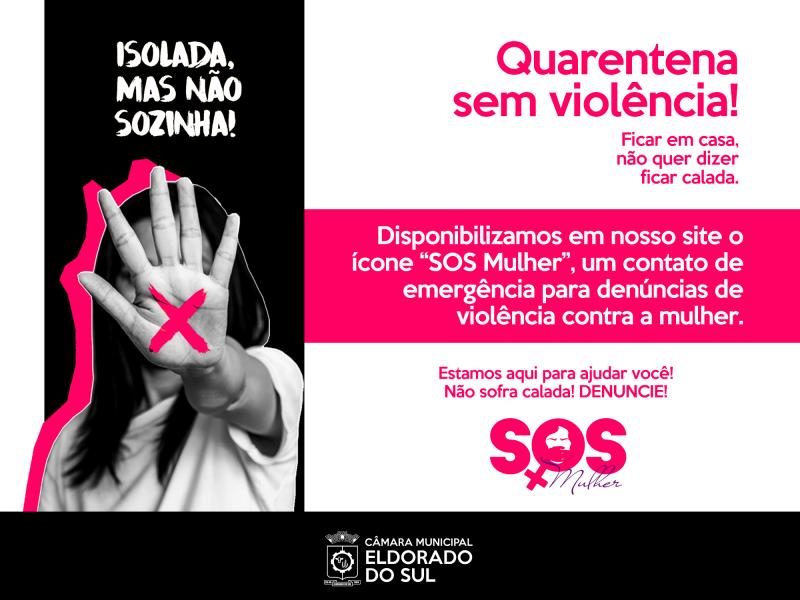 Câmara lança SOS Mulher