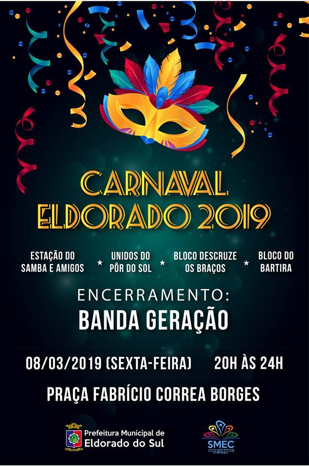 Carnaval em Eldorado do Sul