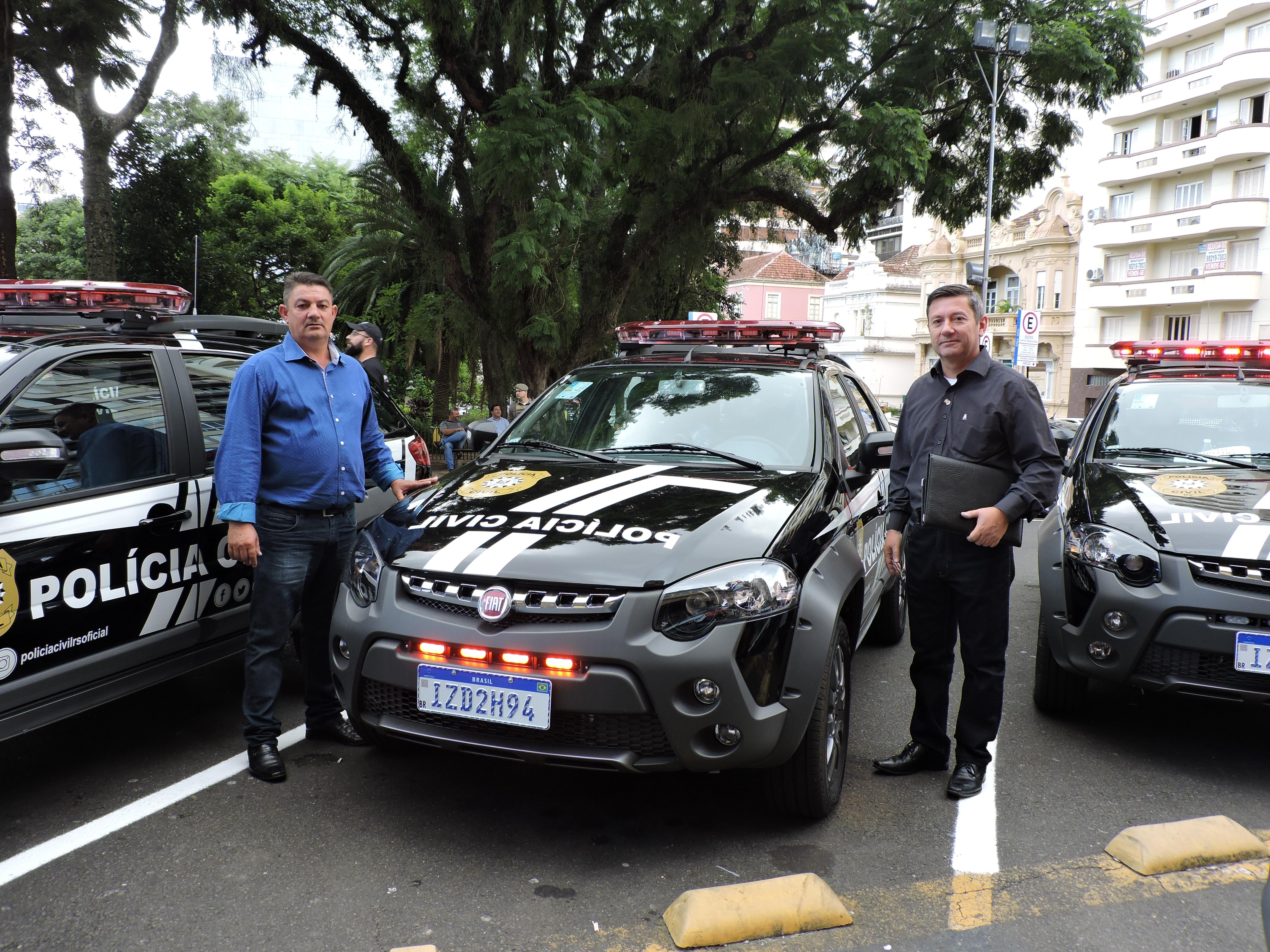 Eldorado do Sul recebe do Governo do Estado reforço para Segurança Pública