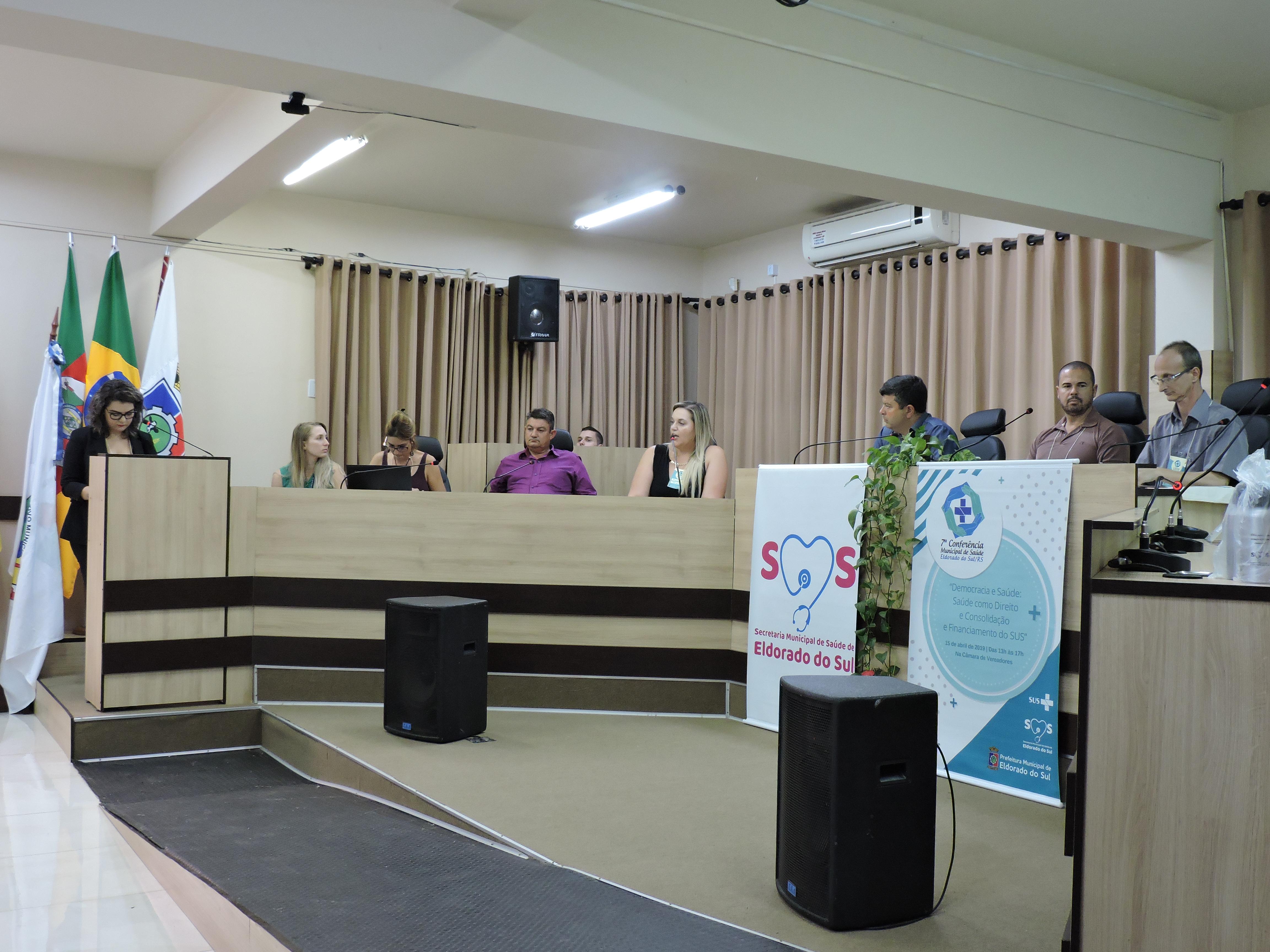 Câmara de Vereadores sedia 7ª Conferência Municipal de Saúde