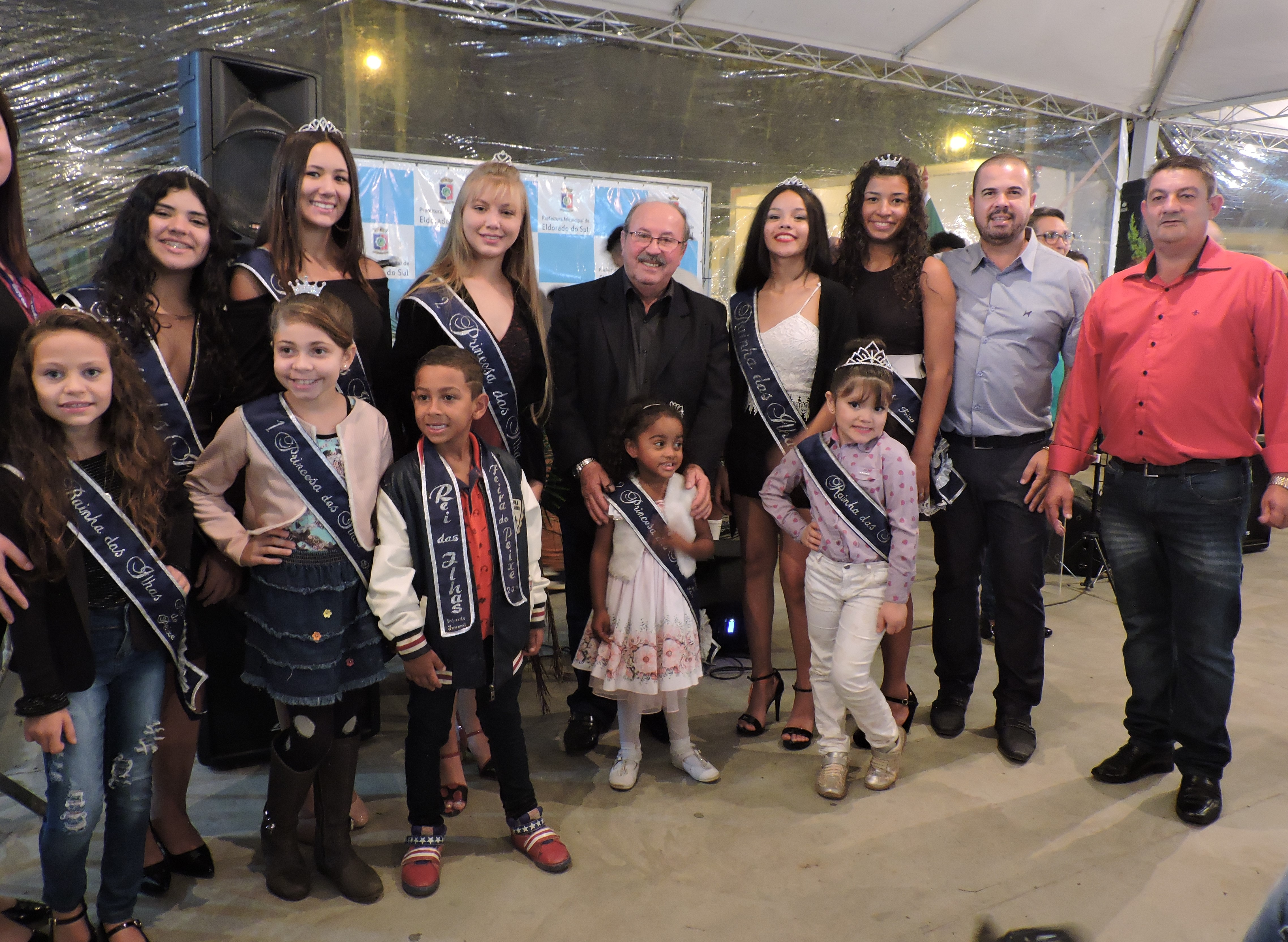 Legislativo prestigia abertura da 15ª Festa do Peixe de Eldorado do Sul