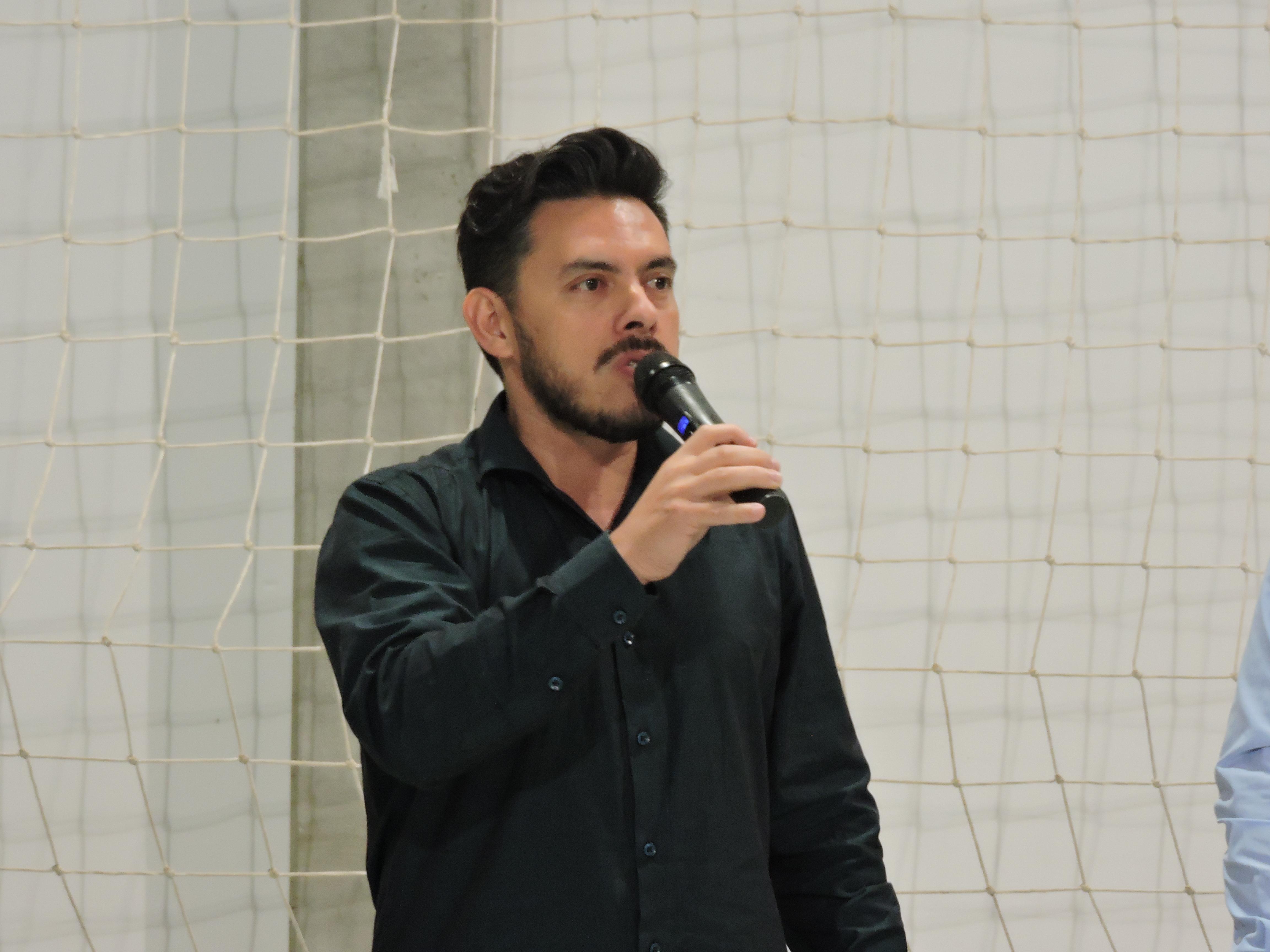 Juliano de Sá, representando a Comissão de Segurança e Serviços Públicos da Assembléia Legislativa
