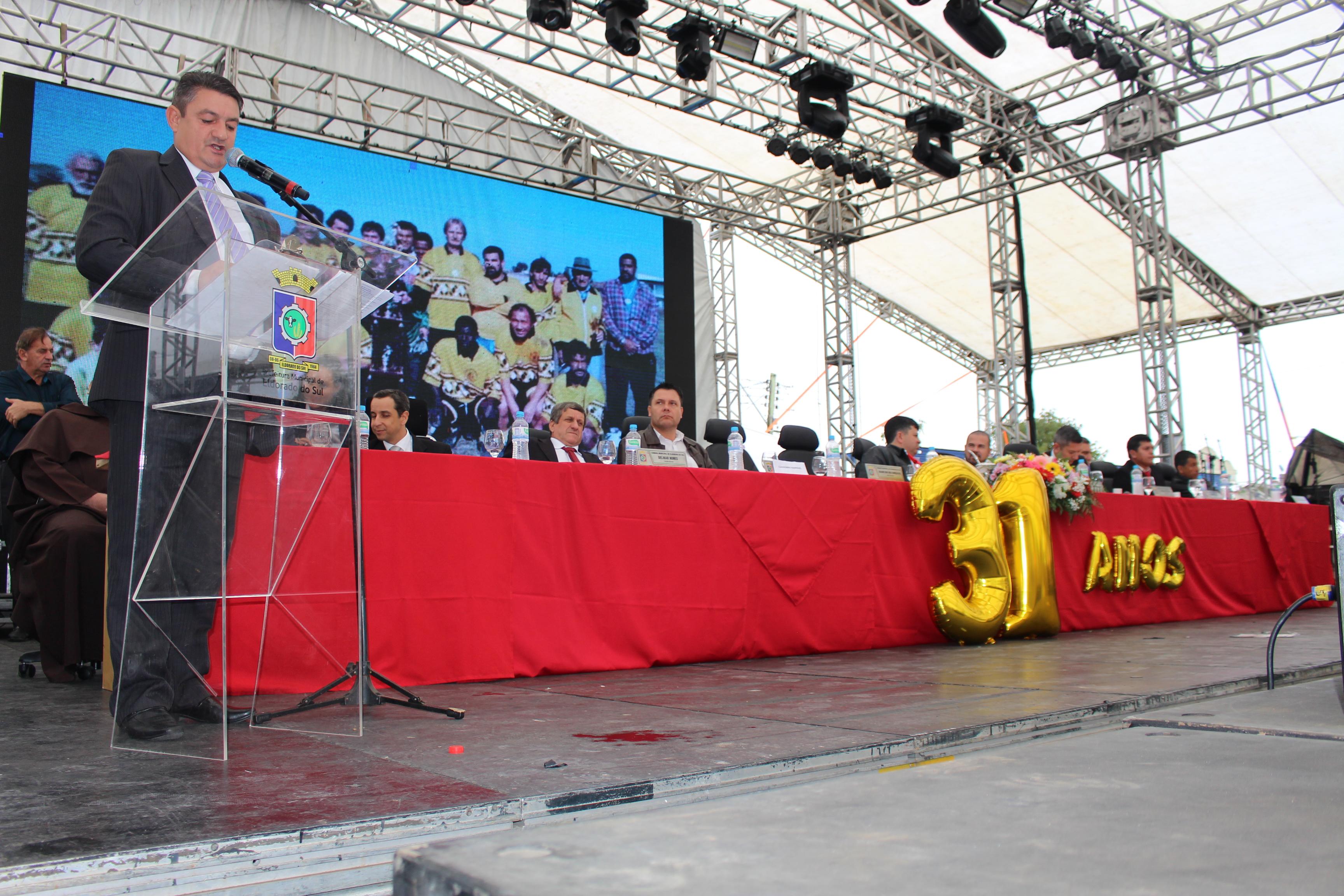 Câmara realiza Sessão Solene em comemoração ao Aniversário do Município