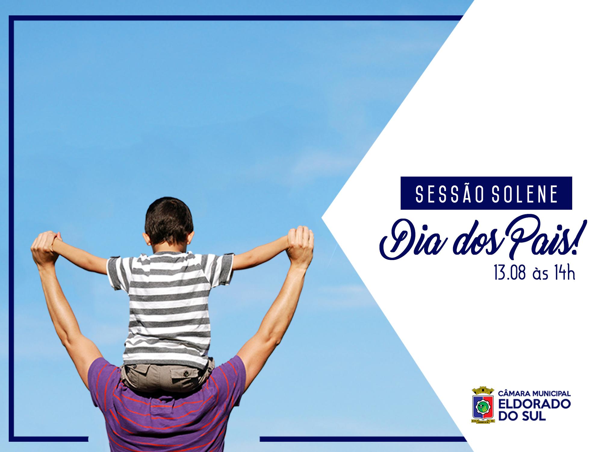 Sessão Solene de Dia dos Pais