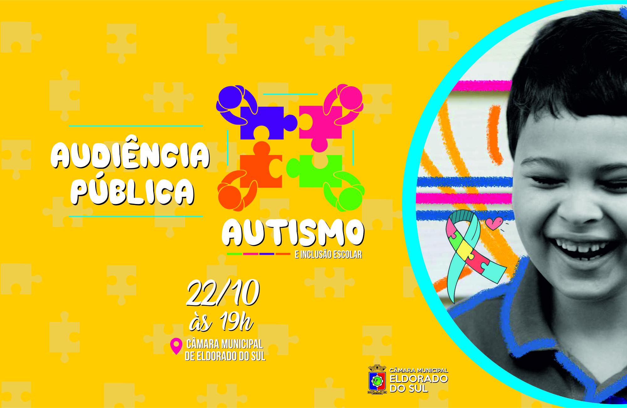 Legislativo promove Audiência Pública sobre Autismo e Inclusão Escolar