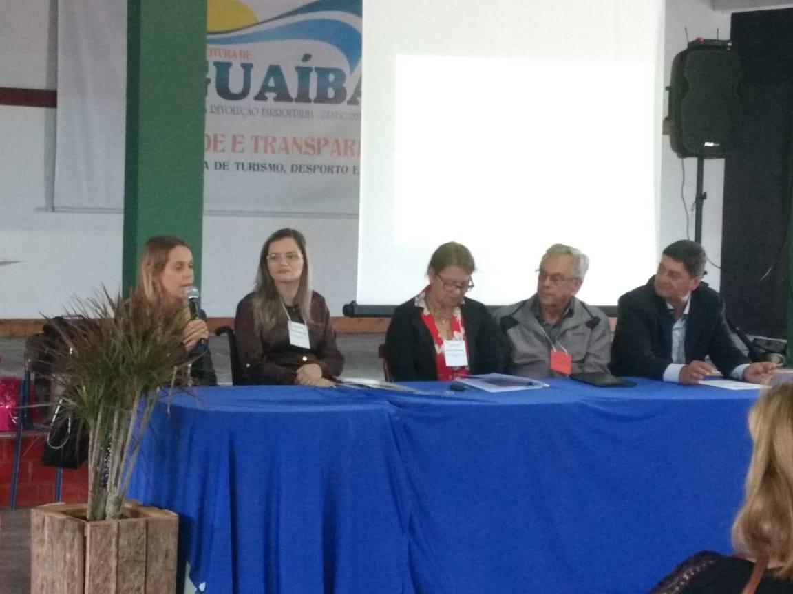 Vereadora Fernanda Garcia participa da IV Conferência Municipal do Idoso de Guaíba