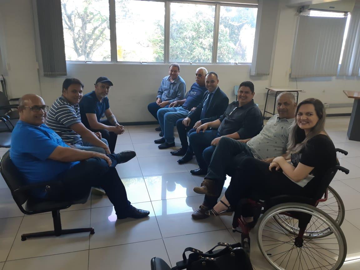 Vereadores reúnem-se com o novo secretário de Mobilidade Urbana e Segurança