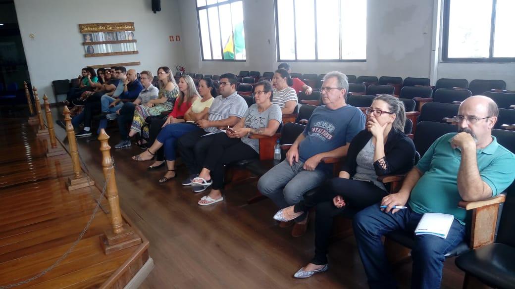 Legislativo municipal recebe ciclo de palestras sobre Educação Fiscal