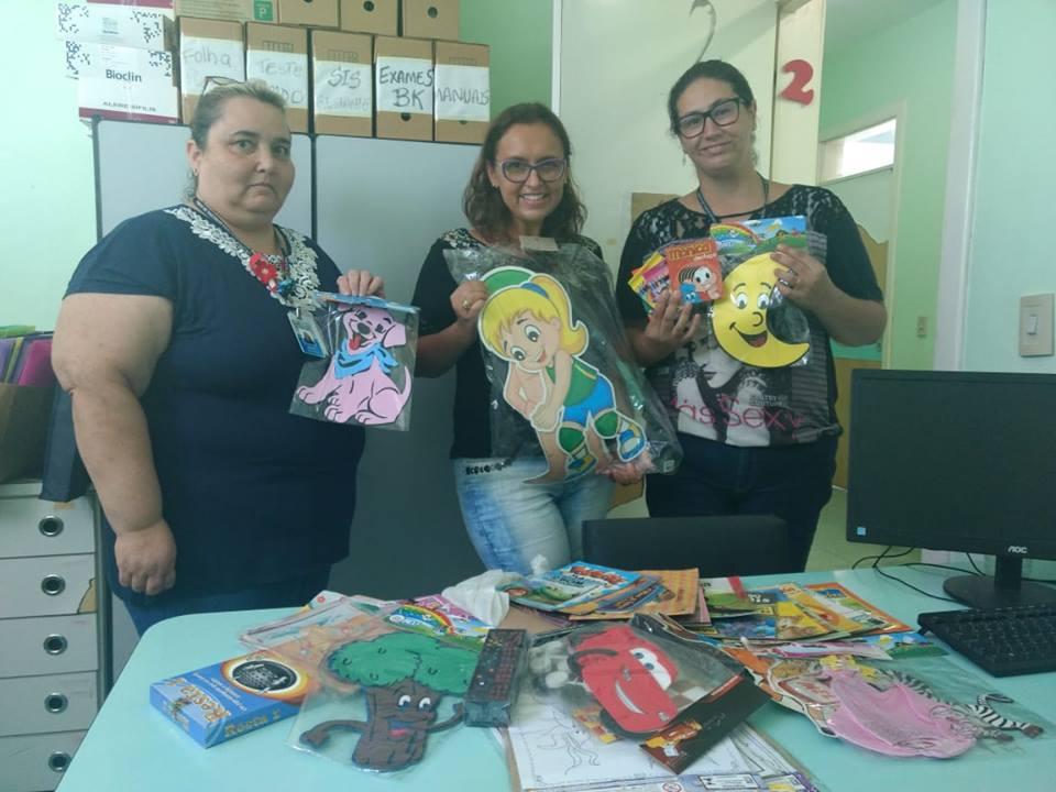 """""""Espaços Kids"""" nos Postos de Saúde -Claudinha Jardim (DEM) inicia campanha para humanizar UBSs de Guaíba"""
