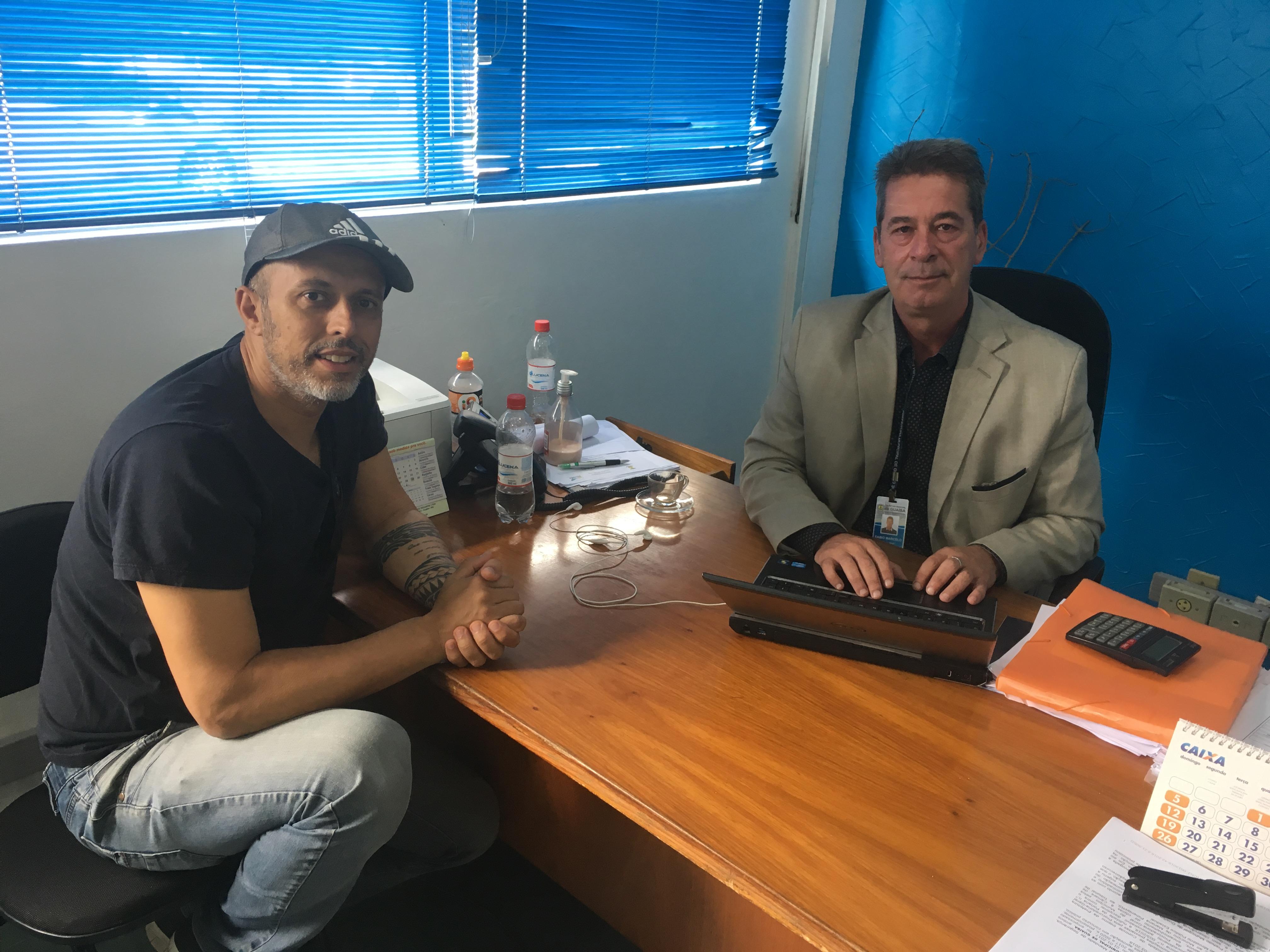 Vereador Everton da Academia se reúne com Secretário da Fazenda