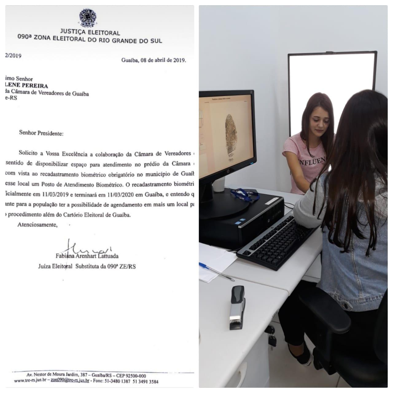 Justiça Eleitoral instala Posto de Atendimento Biométrico na Câmara Municipal