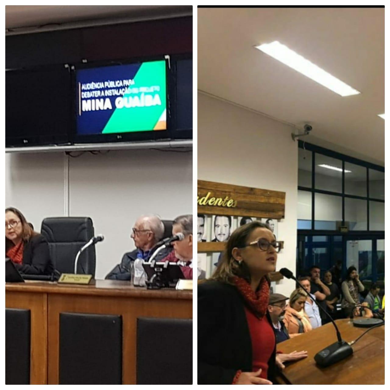 População Lota o Plenário em Audiência Pública sobre Impactos do Projeto Mina Guaíba