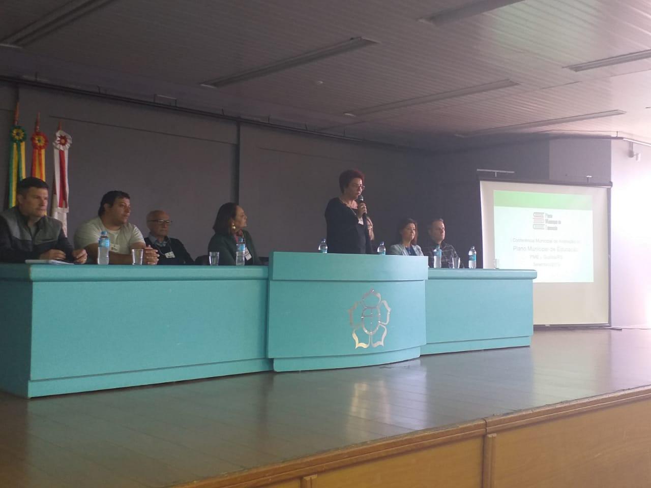 I Conferência Municipal de Avaliação do Plano Municipal de Educação de Guaíba