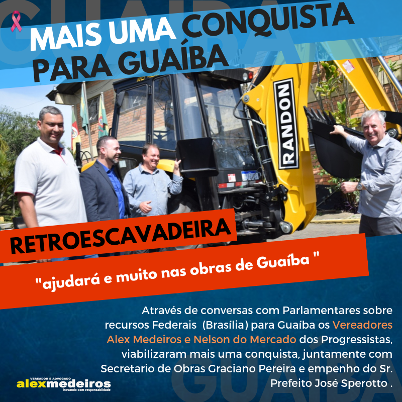 Nova Conquista - Retroescavadeira
