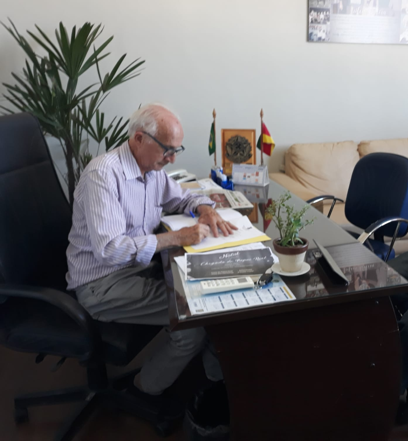Presidente Assina Projeto de Lei do Centro de Treinamento do Inter