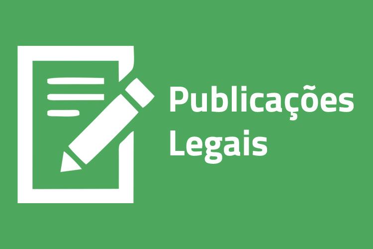 EDITAL DE DIVULGAÇÃO -  PROJETO DE LEI COMPLEMENTAR Nº 039/2020 - Altera a Lei Municipal nº 1.027/1990 – Código de Posturas do Município – Proponente: Ver. Juliano Ferreira (PTB).