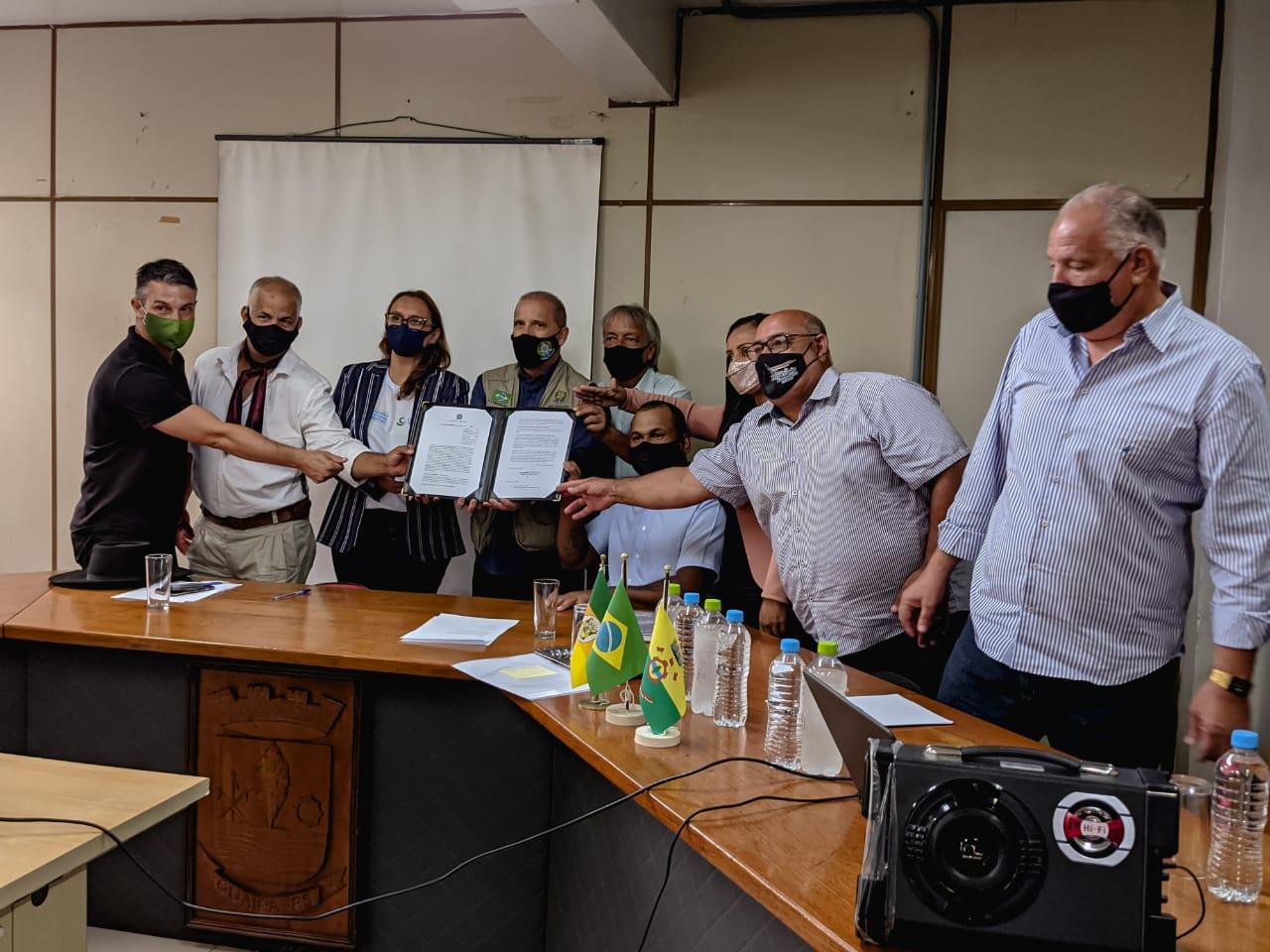 Projeto Brasil em Campo - Vereadores prestigiam ato com o ministro da Cidadania
