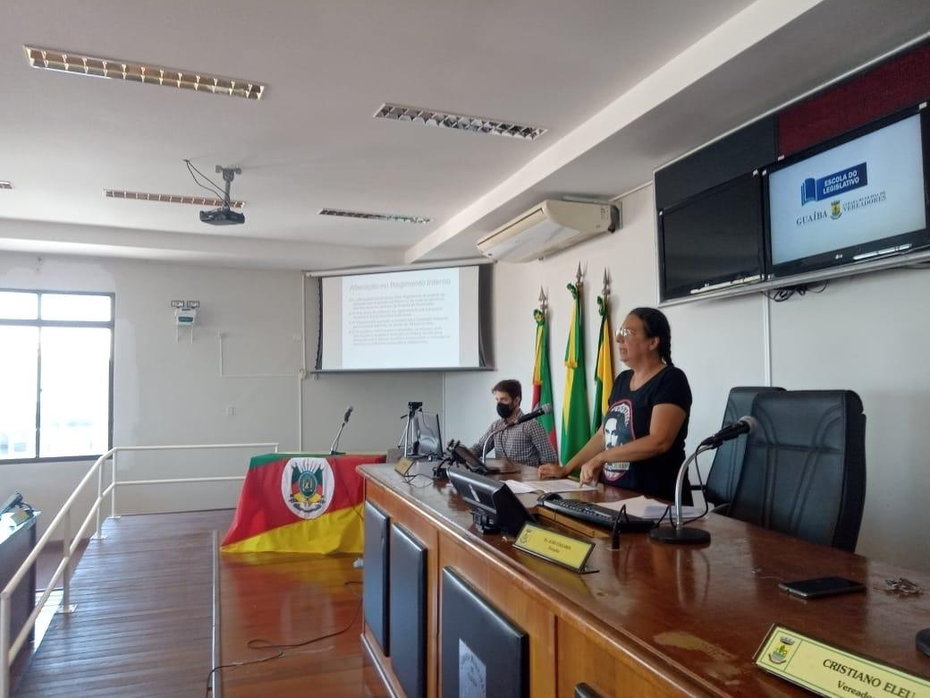 Escola do Legislativo - Câmara capacita servidores e assessores da Legislatura 2021/2024