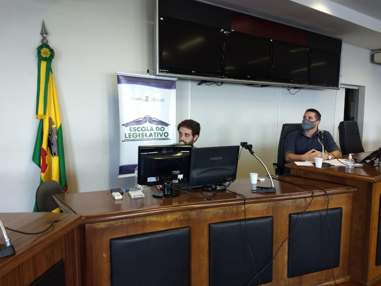 Escola do Legislativo – Servidores participam de curso de capacitação