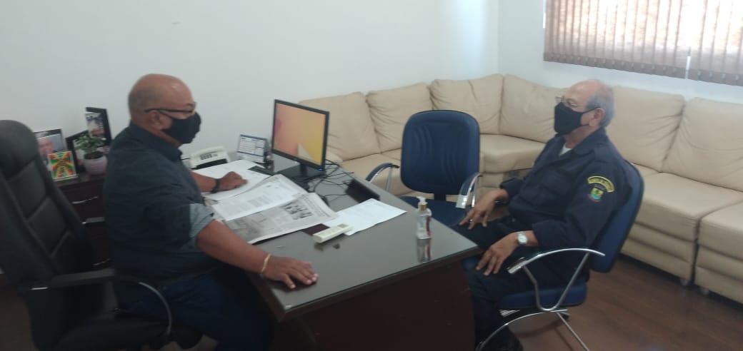 Presidente da Câmara recebe presidente do SindiGuaíba
